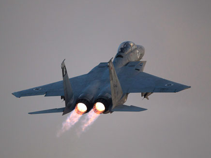 תוקפים בסוריה? מטוסי חיל האוויר (ארכיון)