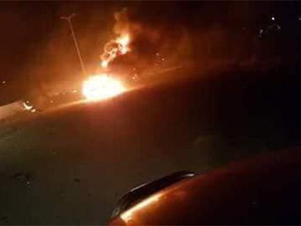 פיצוצים בבסיס אירני בסוריה