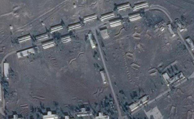 תצלום לוויין של אזור התקיפה (צילום: תצלום לוויין)