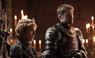 לנה הידי (סרסיי) וניקולאי קוסטר ולדאו (ג'יימי)  ב'משחקי הכס' עונה  (צילום: הלן סלואן, מקור: HBO באדיבות HOT)