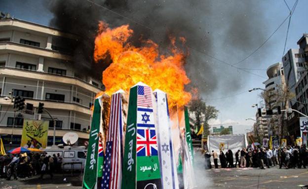 אירן וישראל: ארבעה עשורים של איבה ואיומים... (צילום: סוכנות הידיעות האירנית)