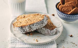 עוגת לוטוס פקאן בחושה (צילום: אמיר מנחם, אוכל טוב)