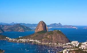 הר הסוכר בריו דה ז'נירו (צילום: שרית מאייר)