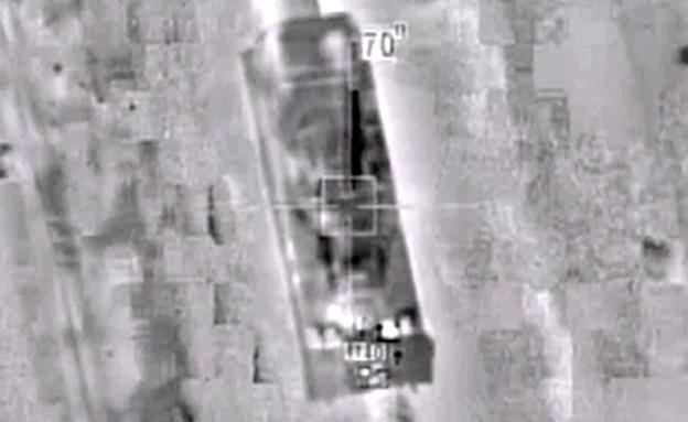 תקיפת צה'ל נגד מטרות אירניות בסוריה (צילום: חדשות 2)