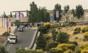 העבודות להקמת השגרירות (צילום: החדשות)
