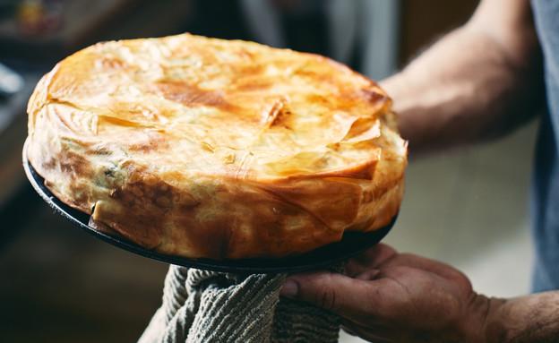מאפה פילו פטריות - מוכן (צילום: אמיר מנחם, אוכל טוב)