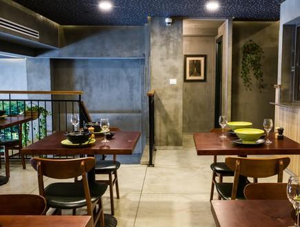 מסעדת JOYA , עיצוב חגית בכר, חדר אוכל (צילום: אבי קבלו פריזמה צלמים)