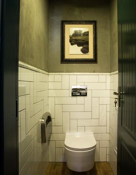 מסעדת JOYA , עיצוב חגית בכר, שירותים, ג (צילום: אבי קבלו פריזמה צלמים)