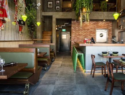 מסעדת JOYA , עיצוב חגית בכר, בר (צילום: אבי קבלו פריזמה צלמים)