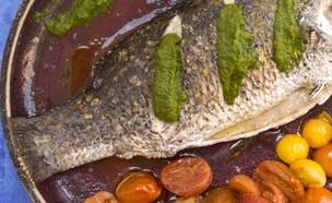 רק נראה מאיים אך קליל להכנה, דג בורמנדי שלם (צילום: הדס ניצן)