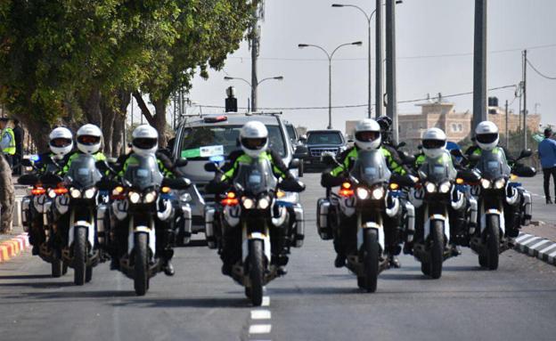 היערכות המשטרה (ארכיון) (צילום: דוברות המשטרה)