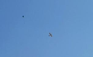תיעוד: כך נאבקים בעפיפונים בעזה (צילום: החדשות)