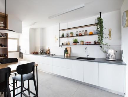 בית בתל אביב, עיצוב ליאור לסנר, מטבח (9)