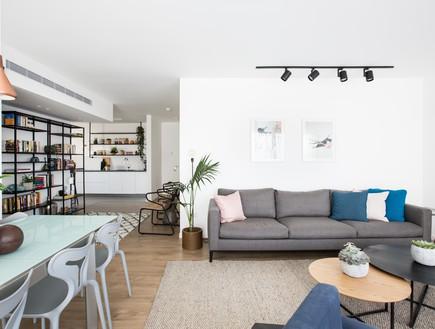 בית בתל אביב, עיצוב ליאור לסנר, סלון (16)