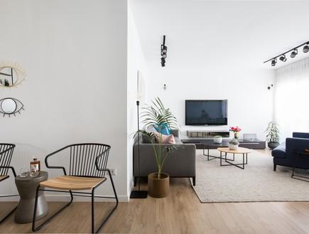 בית בתל אביב, עיצוב ליאור לסנר, סלון (18)