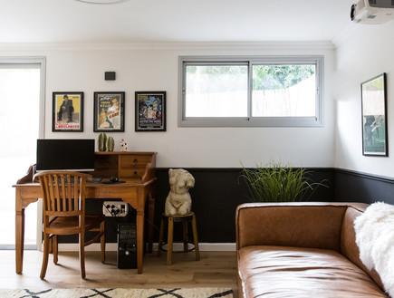 בית בהרצליה, עיצוב אורית דרום, חדר הקרנה (16)