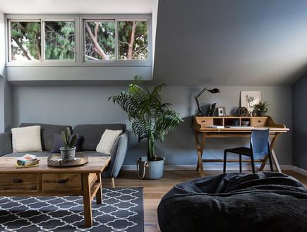בית בהרצליה, עיצוב אורית דרום, חדר משפחה