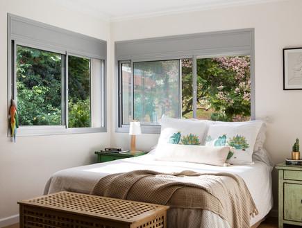 בית בהרצליה, עיצוב אורית דרום, חדר שינה