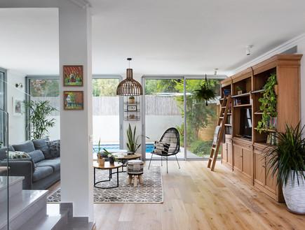 בית בהרצליה, עיצוב אורית דרום, סלון