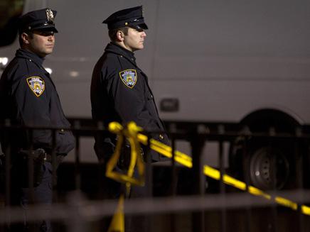 "זירת רצח בארה""ב, ארכיון (צילום: רויטרס)"