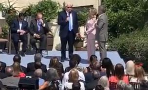 למה שובש הטקס עם השגריר בי-ם?