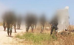 לוחמי יחידת מגלן  בגבול הרצועה (צילום: חדשות 2)