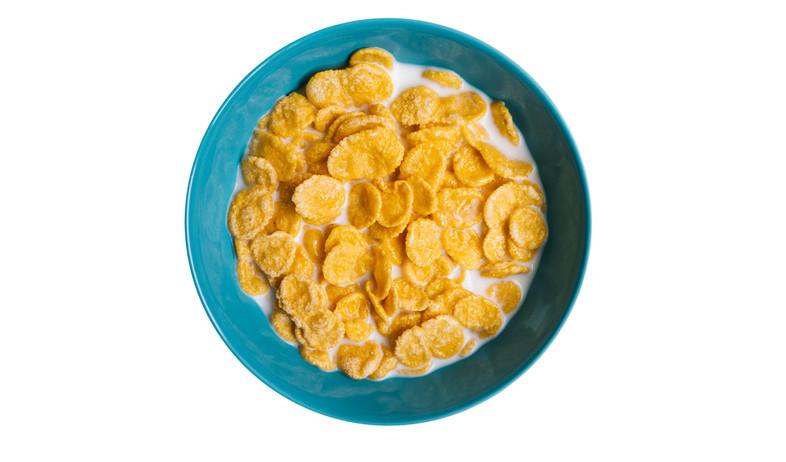 קערת קורנפלקס עם חלב (צילום: kateafter | Shutterstock.com )