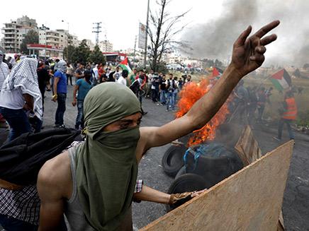 הפגנות גם ברמאללה