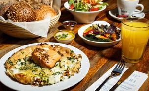 ארוחת בוקר, מסעדת תשבי (צילום: דני גולן, יחסי ציבור)