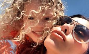 נעמה קסרי ובתה (צילום: אינסטגרם, צילום מסך)