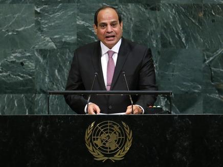 נשיא מצרים: