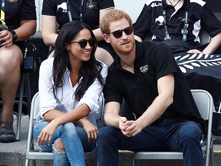 היכרות קצרה - וחתונה. הנסיך הארי ומייגן