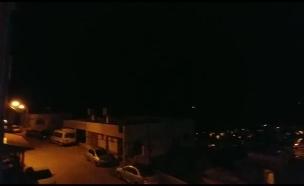 רקטות מסוריה למגדל שמס (צילום: חדשות 2)