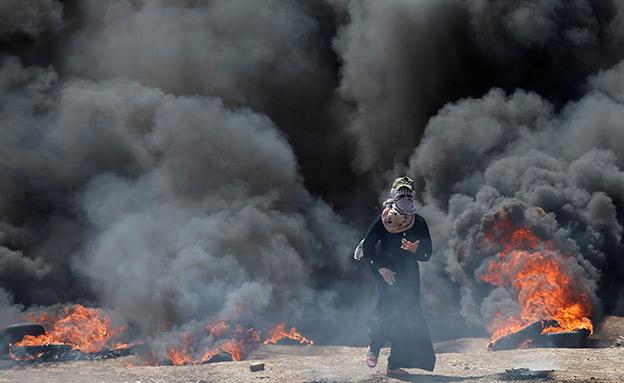 המהומות, היום (צילום: רויטרס)
