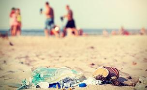 מדד זיהום החופים (צילום: חדשות 2)