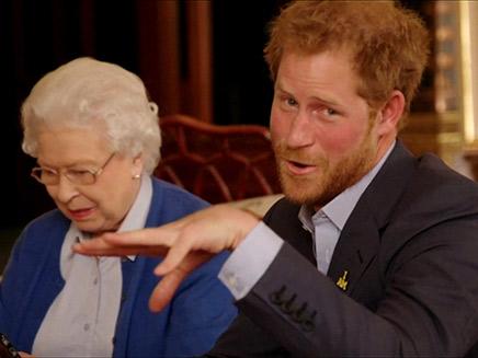 הארי וסבתא, המלכה אליזבת'