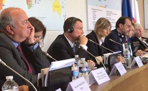 אדלשטיין באסיפה הלאומית הצרפתית (צילום: חדשות 2)