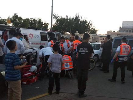 ילד בן 7 נהרג מפגיעת אוטובוס