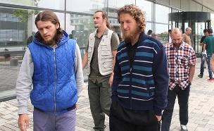חלק מהמורשעים. עונשי מאסר כבדים (צילום: רויטרס)