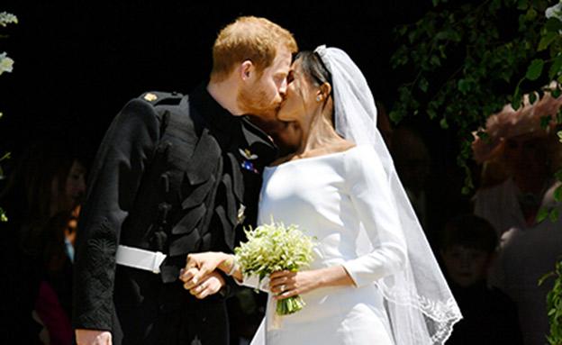 החתונה של הנסיך הארי ומייגן מרקל (צילום: רויטרס)