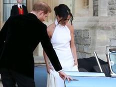 השמלה השנייה של מייגן התעלתה על זו של קייט