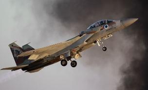 מטוס F15 של חיל האוויר. ארכיון (צילום: רויטרס)