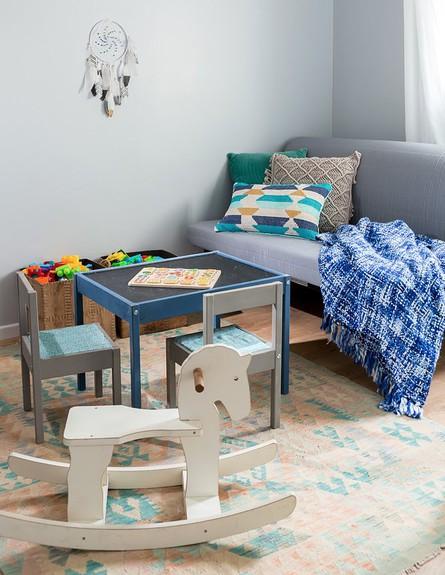 דירה בהרצליה, ג, עיצוב עדידה הלבשת בתים, חדר ילדים - 37 (צילום: שי אפשטיין)