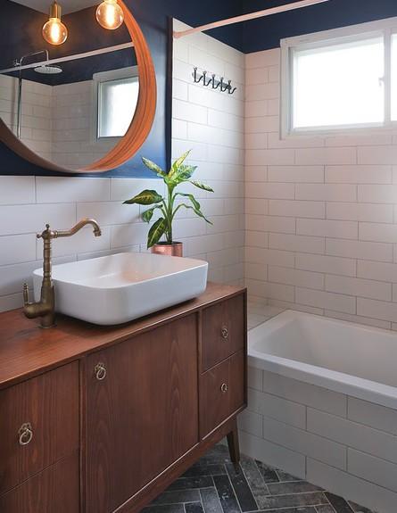 דירה בהרצליה, ג, עיצוב עדידה הלבשת בתים, חדר רחצה - 45 (צילום: שי אפשטיין)