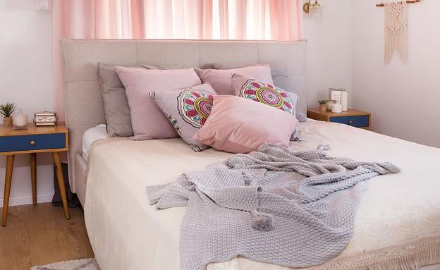 דירה בהרצליה, עיצוב עדידה הלבשת בתים, חדר שינה - 35 (צילום: שי אפשטיין)