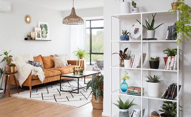 דירה בהרצליה, עיצוב עדידה הלבשת בתים, סלון - 12 (צילום: שי אפשטיין)