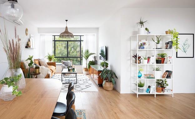 דירה בהרצליה, עיצוב עדידה הלבשת בתים, סלון - 14 (צילום: שי אפשטיין)