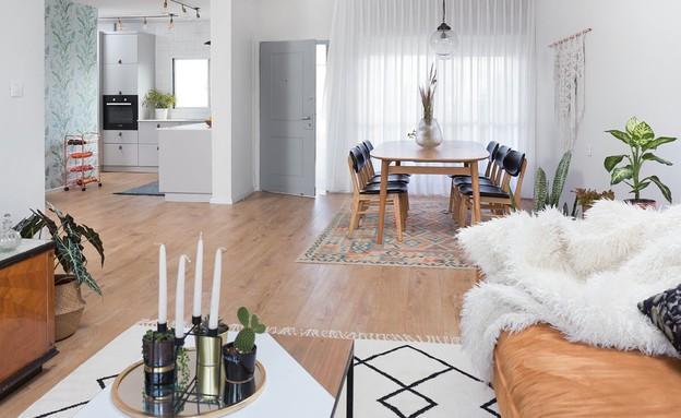 דירה בהרצליה, עיצוב עדידה הלבשת בתים, פינת אוכל - 19 (צילום: שי אפשטיין)