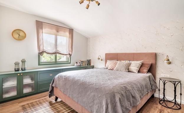 עיצוב ניר אלעד, חדר שינה (צילום: יואב פלד צילום אדריכלות peledstudios)