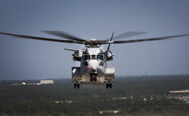 CH-53K בטיסת ניסוי (צילום: US Marine Corps)